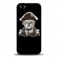 Чехол для IPhone с картинкой Admiral Bulldog