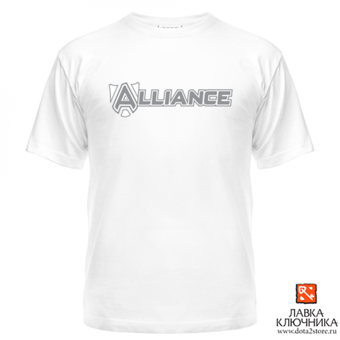 Футболка с логотипом команды Alliance