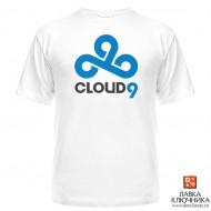 Футболка с логотипом команды Cloud9
