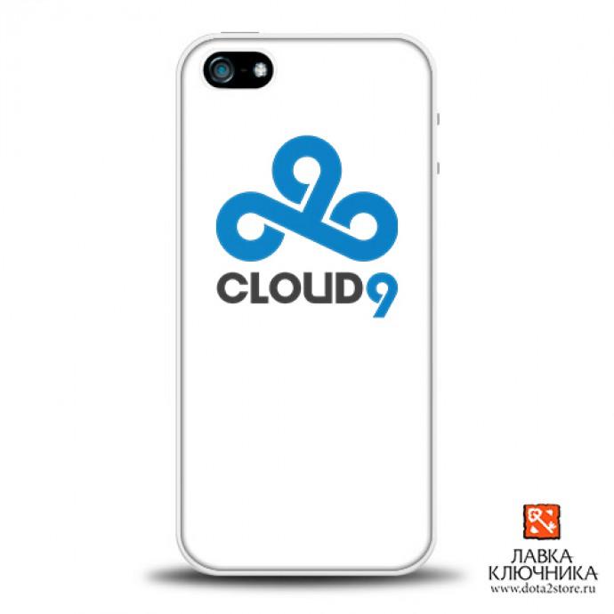 Чехол для IPhone с логотипом Cloud9