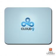 Коврик с логотипом Cloud9