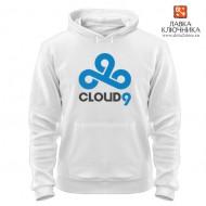 Толстовка с логотипом команды Cloud9