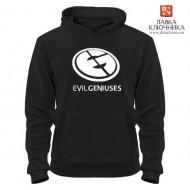 Толстовка с логотипом команды Evil Geniuses
