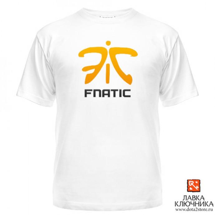 Футболка с логотипом команды Fnatic