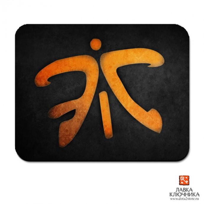 Коврик с логотипом Fnatic