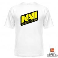 Футболка с логотипом команды NaVi