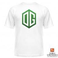 Футболка с логотипом команды OG