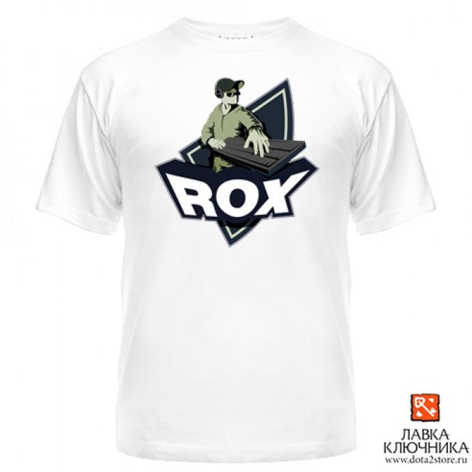 Футболка с логотипом команды RoX.KIS