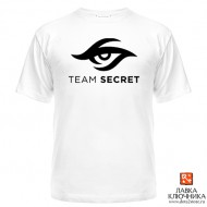 Футболка с логотипом команды Team Secret