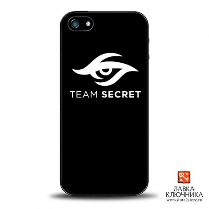 Чехол для IPhone с логотипом Team Secret