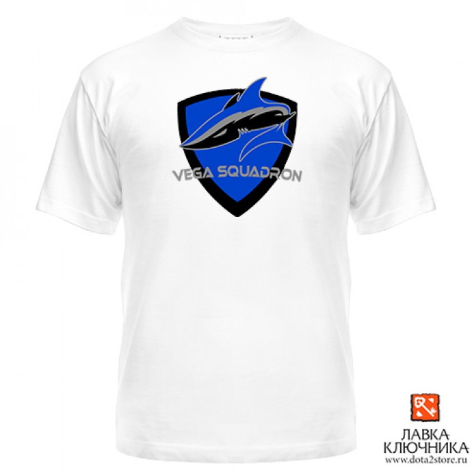 Футболка с логотипом команды Vega