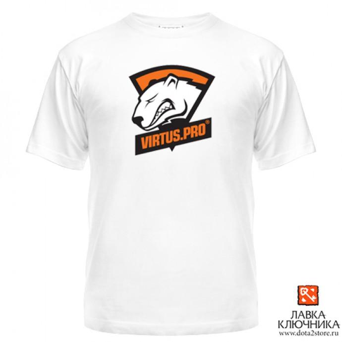 Футболка с логотипом команды Virtus.pro