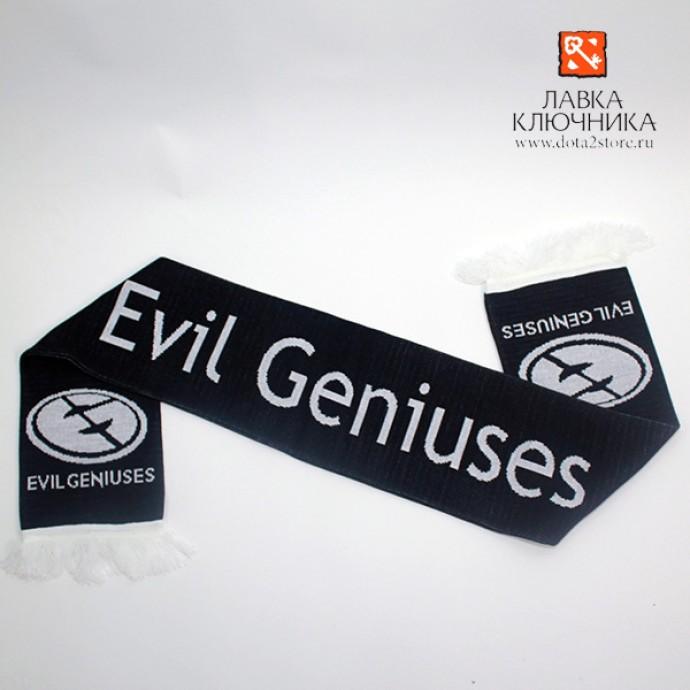 Шарф с логотипом Evil Geniuses
