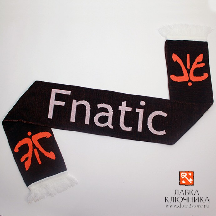 Шарф с логотипом Fnatic