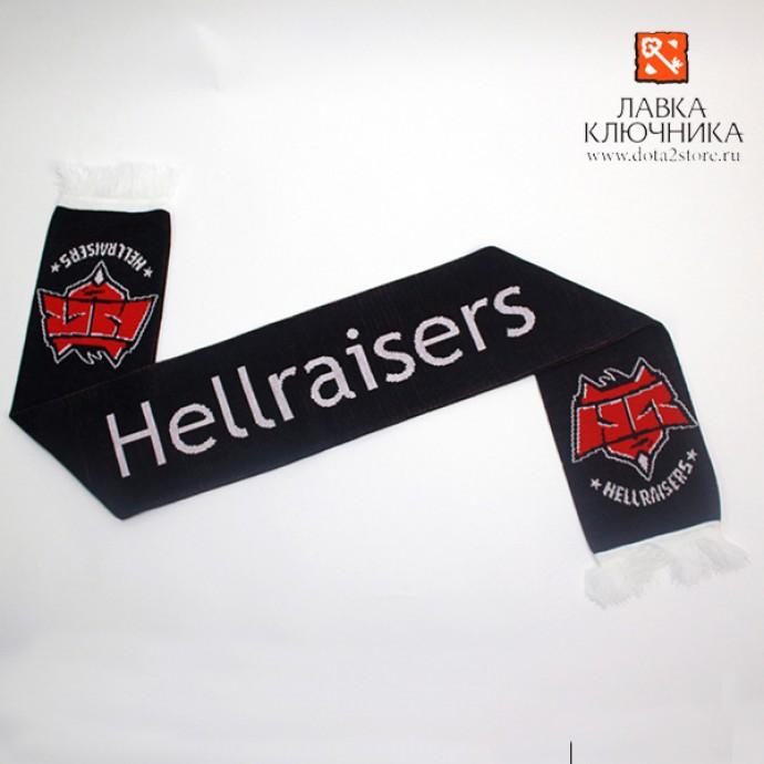 Шарф с логотипом Hellraisers